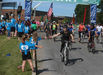 Riders had perfect weather for the Ride for Roswell on Saturday, June 22, 2019.