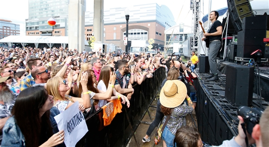 The festival that has always served as a de facto start to the concert season for local alt-rock fandom took place at Canalside on Friday, June 21.
