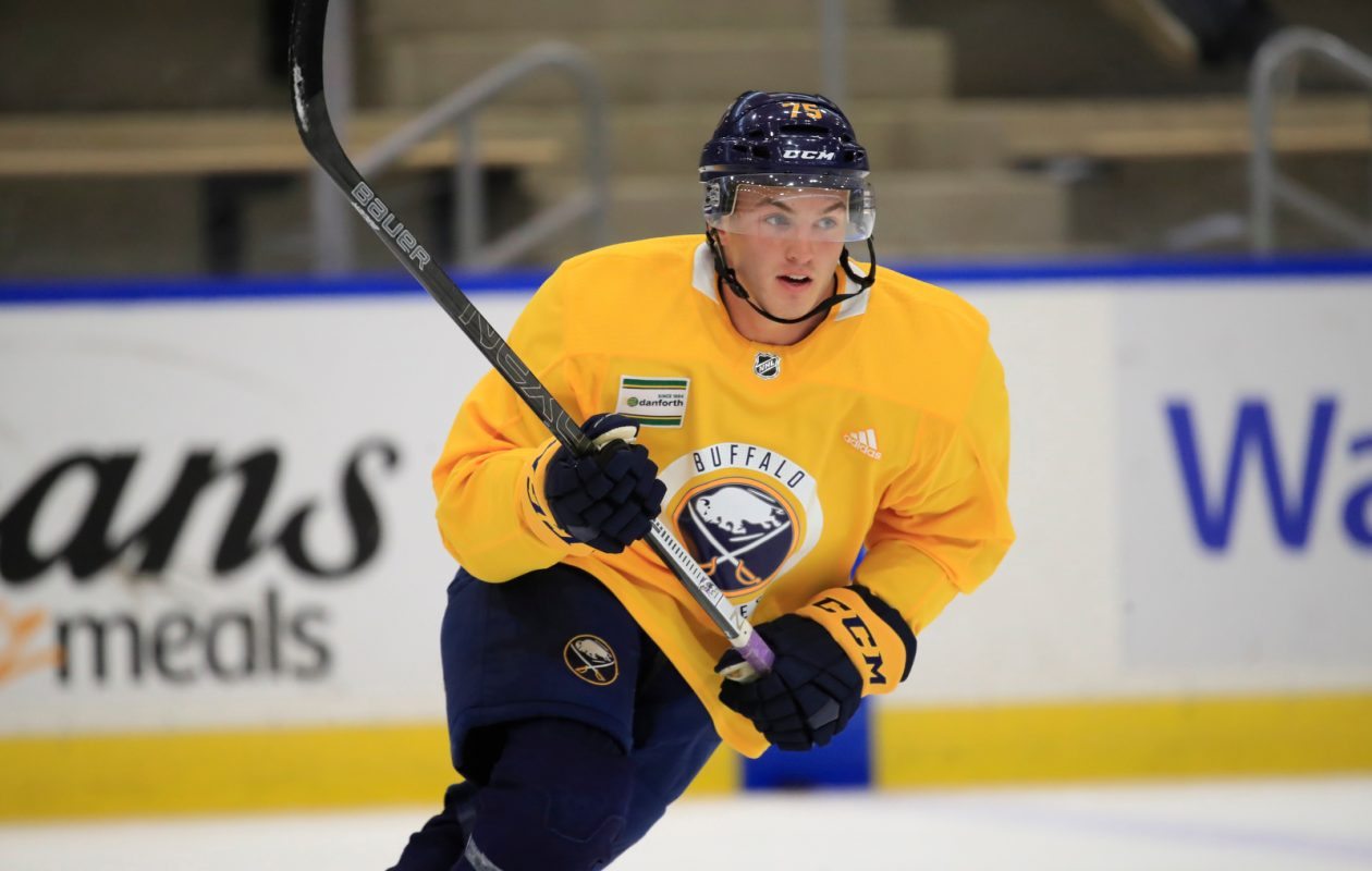 For Niagara S Eric Cooley Sabres Development Camp Is Home Away