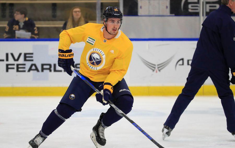Buffalo Sabres prospect Brett Murray during development camp on Wednesday, June 26, 2019. (Harry Scull Jr./Buffalo News)