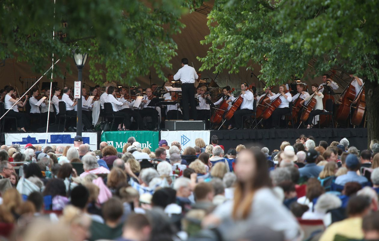 The Buffalo Philharmonic Orchestra will return to Bidwell Park for another free summer concert. (Robert Kirkham/News file photo)