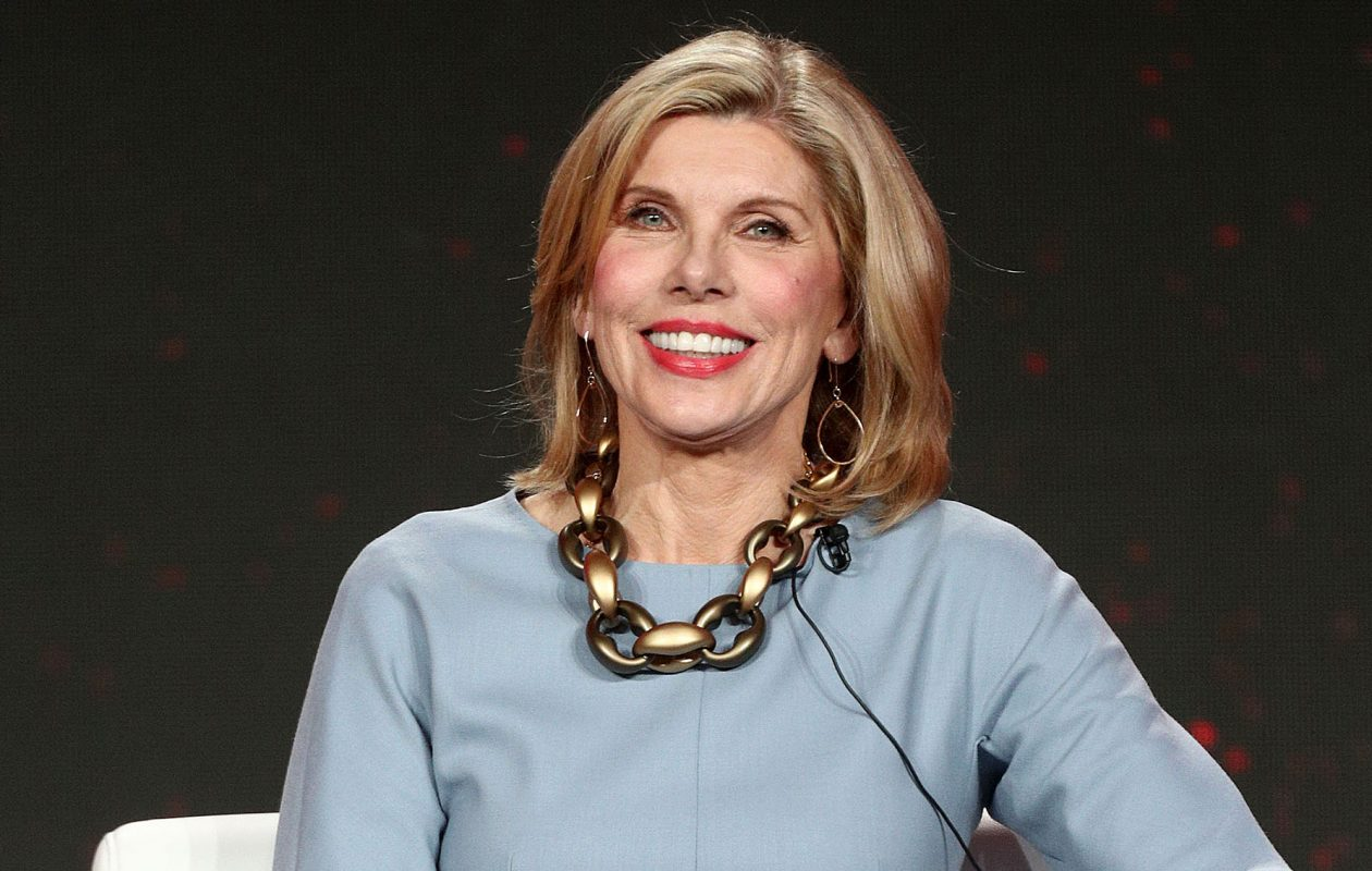 Christine Baranski of the television show 'The Good Fight' speaks during the CBS segment of the 2019 Winter Television Critics Association Press Tour at the Langham Huntington, Pasadena on Jan. 30, 2019, in Pasadena, Calif. (Frederick M. Brown/Getty Images)