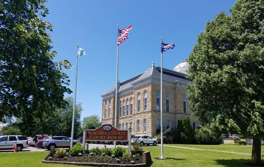 The Niagara County Courthouse. (Thomas J. Prohaska/Buffalo News)