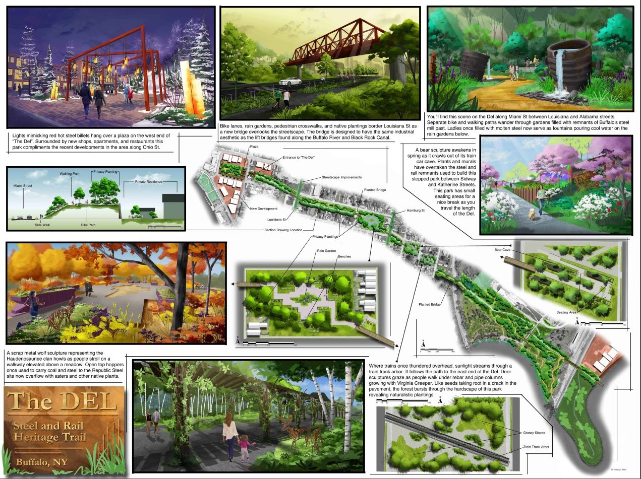 Winning designs: Jury, community picks for linear park along