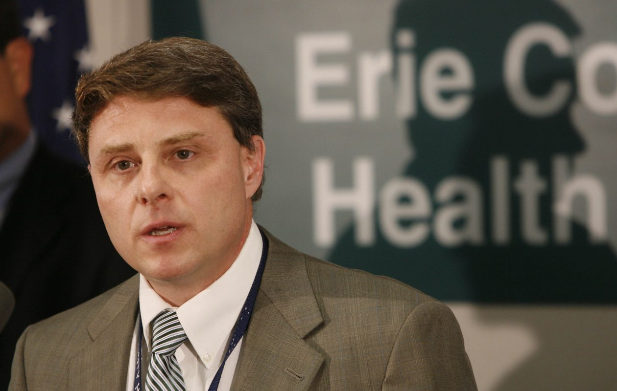 Dr. Anthony J. Billittier IV, who served as Erie County health commissioner from 2000 to 2012, will become the new executive vice president and chief medical officer with Independent Health. (Derek Gee/News file photo)