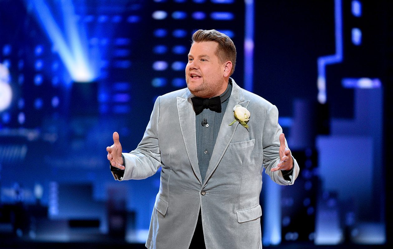 James Corden performs onstage during the 2019 Tony Awards at Radio City Music Hall.  (Theo Wargo/Getty Images for Tony Awards Productions/TNS)