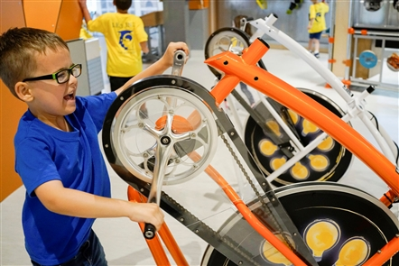 The Explore & More Ralph C. Wilson Jr. Children's Museum opens to the public full-time June 27. Since the ribbon-cutting in May, the space has been available for groups, like the summer camp at LE3, who visited the space ahead of the grand opening.