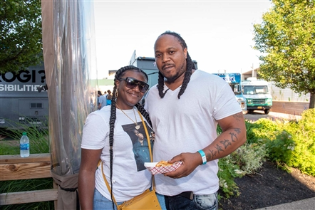 Larkin Square's Food Truck Tuesday continued to chug along with the first meeting of the summer on Tuesday, June 25, 2019 in the Hydraulic District. See who enjoyed fare from more than 25 food trucks stationed at the venue.