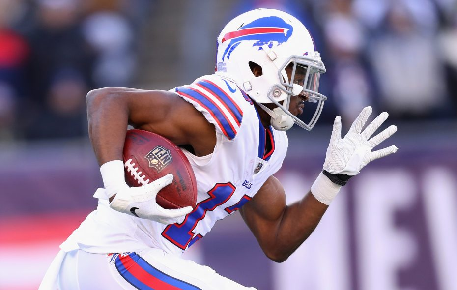 Victor Bolden Jr. joined the Bills in December. (Maddie Meyer/Getty Images)