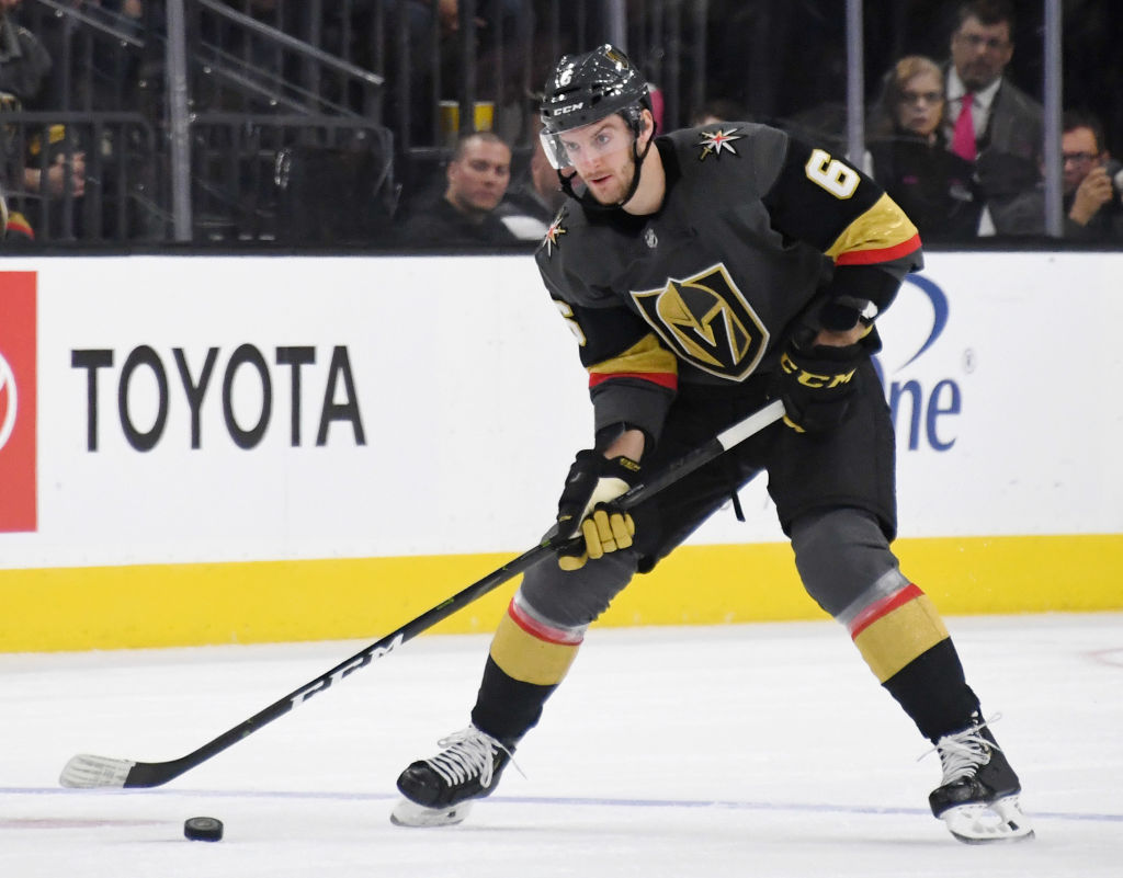 Sabres acquire defenseman Colin Miller from Vegas for two