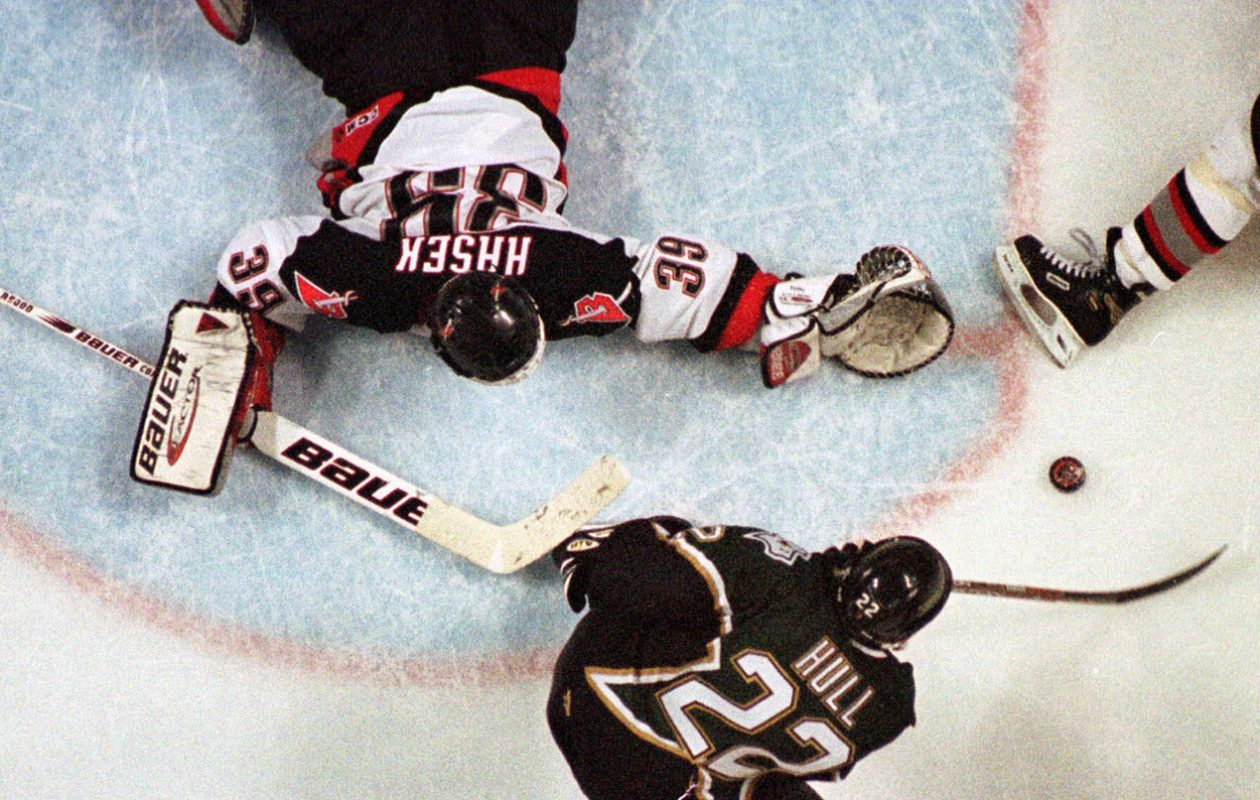 It's 20 years later and Sabres' No Goal drama remains 'huge disappointment' for Hasek