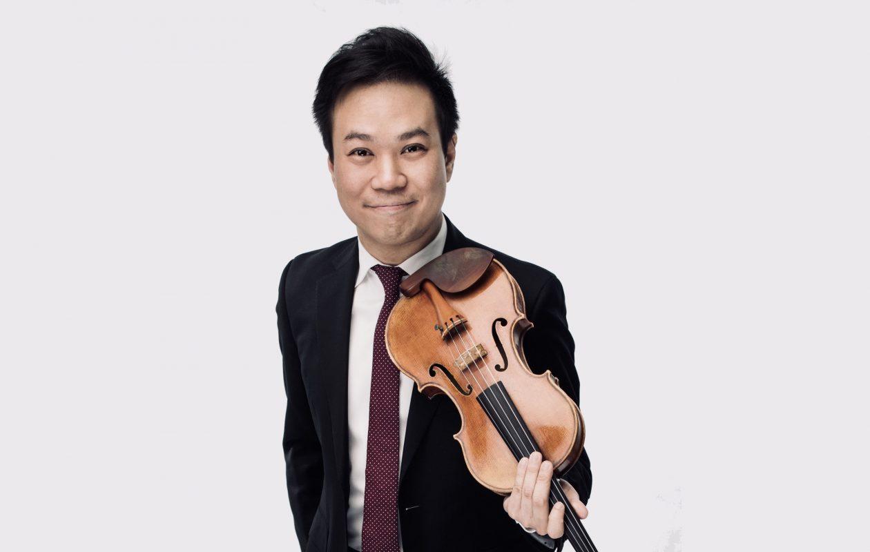 The Buffalo Philharmonic Orchestra announced Nikki Chooi as their new concertmaster on Saturday, June 1, 2019. (Photo courtesy of Nikki Chooi)