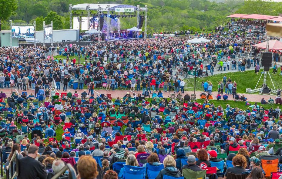 Fans were out in full force for the Sammy Hagar concert, which opened the Artpark summer concert season for 2019. (Don Nieman/Special to The News)
