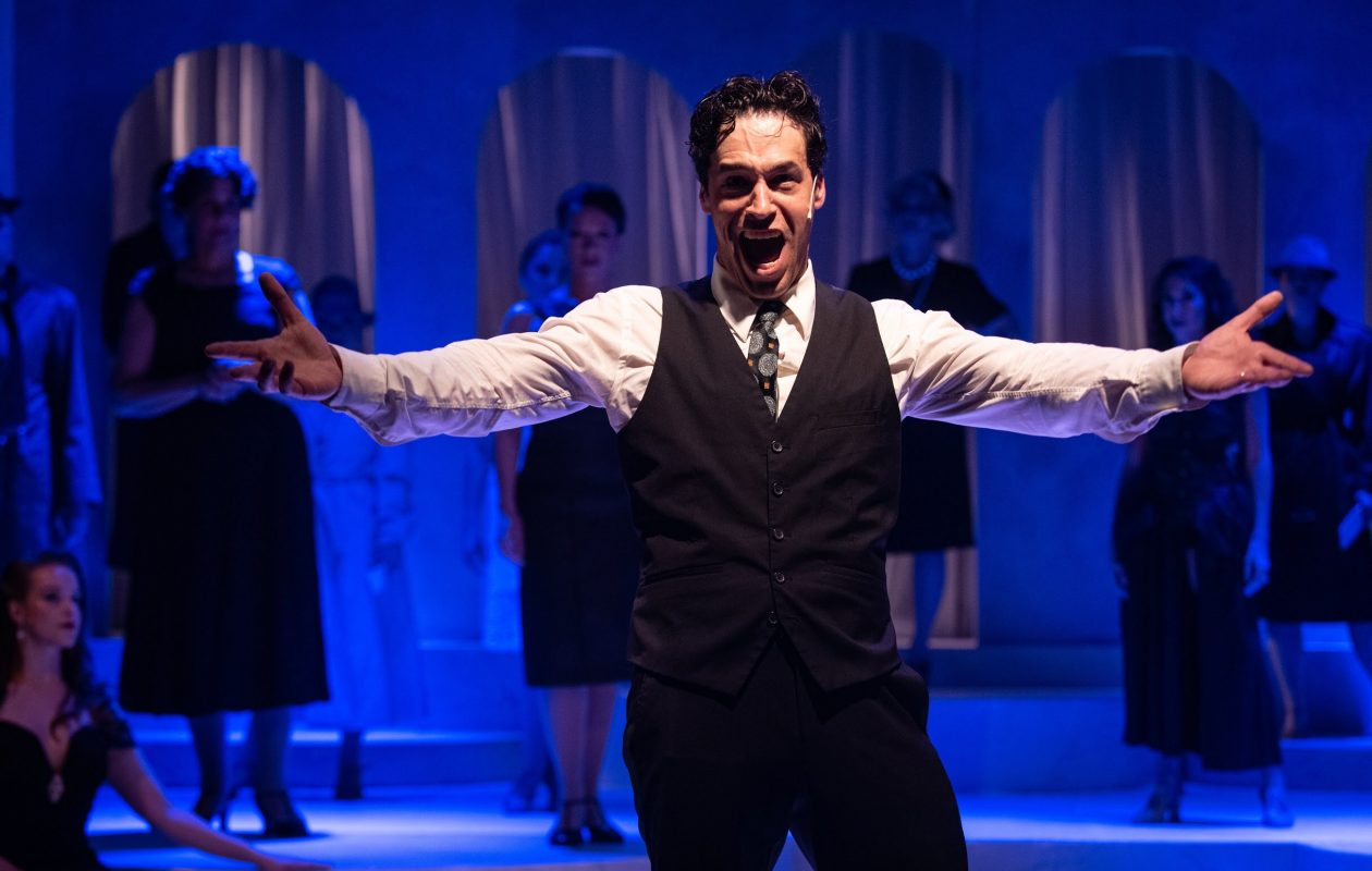 Ben Michael Moran is magnificent as Guido in Second Generation Theatre's production of 'Nine.' (Mark Duggan Photography)