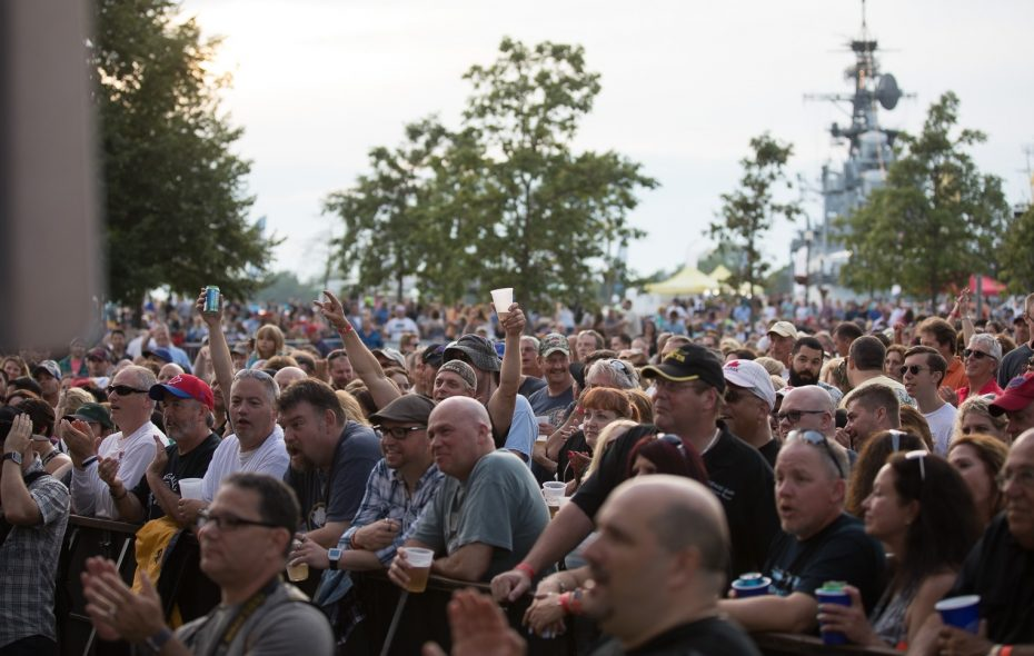 The Strictly Hip and the BPO paired together to draw more than 15,000 people to Canalside in 2017, and the duo unites again Saturday. (Chuck Alaimo/Special to The News)