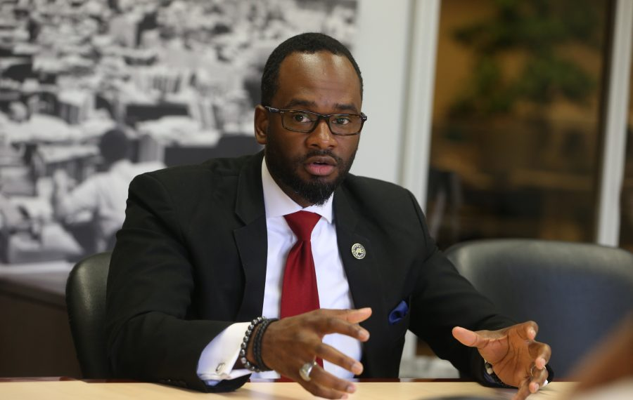 Council Member Ulysees O. Wingo is suggesting the City of Buffalo appoint a municipal poet laureate. (News file photo)