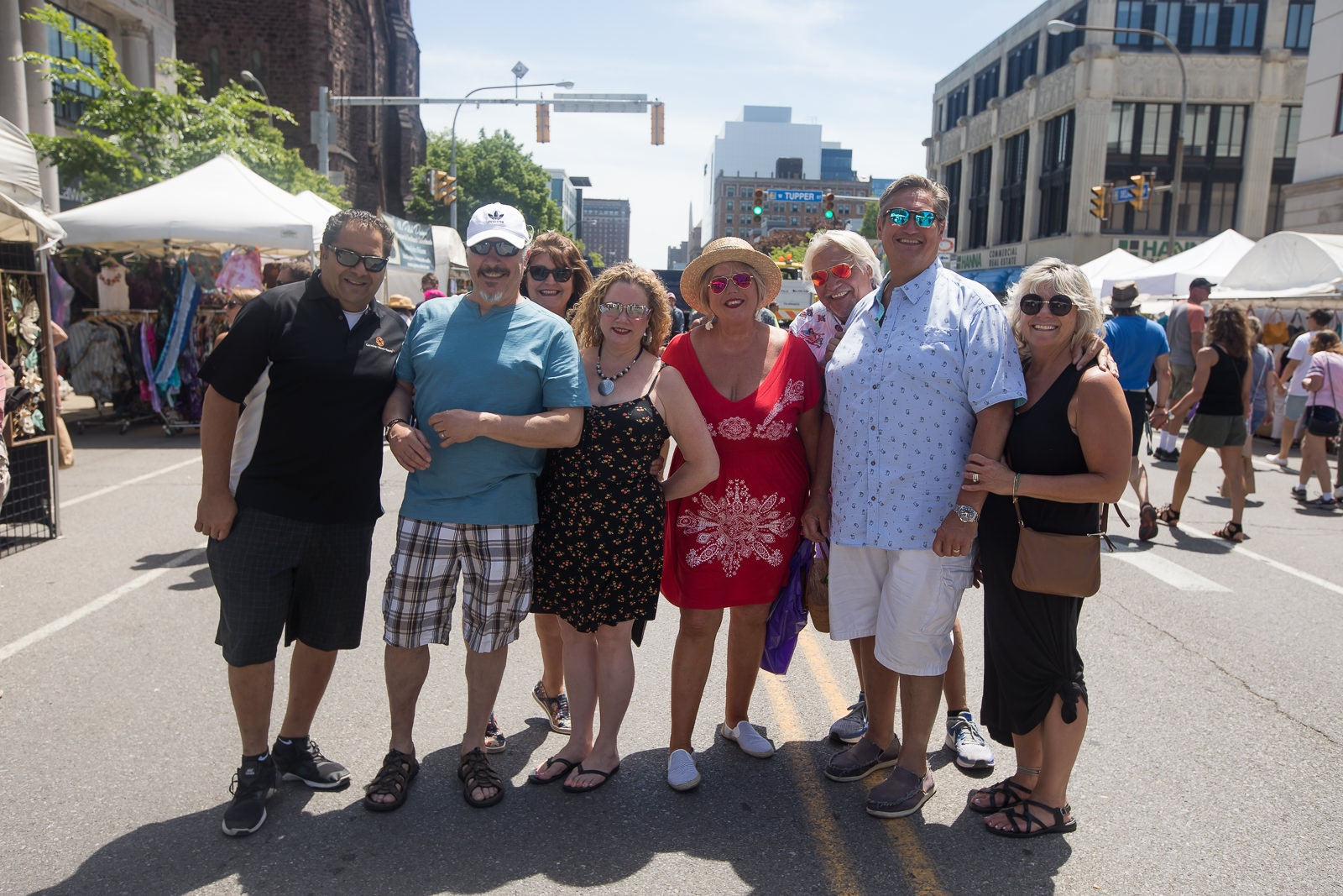 Allen Street and Delaware Avenue were the chief sites for the Allentown Art Festival's first day of 2019, on Saturday, June 8. See the vendors, shoppers, buskers and others who wandered about. The festival continues from 10 a.m. to 6 p.m. Sunday.