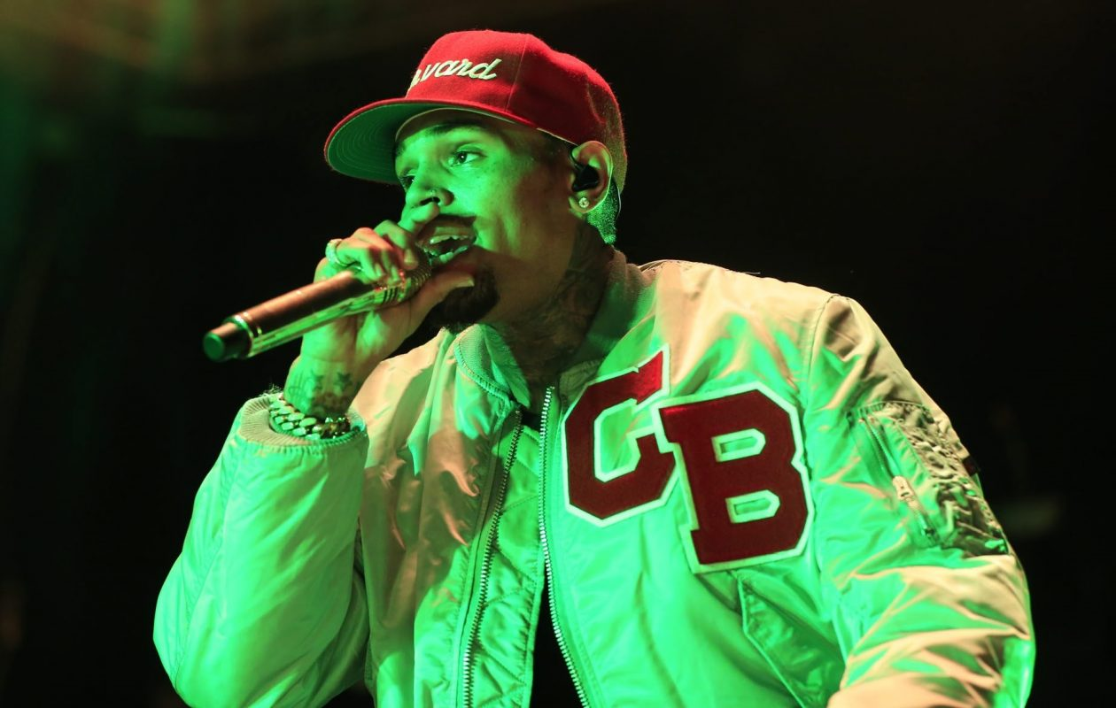 Pop-R&B artist Chris Brown, pictured performing in 2015 at Darien Lake, has scheduled a return to Buffalo. (Harry Scull Jr./News file photo)