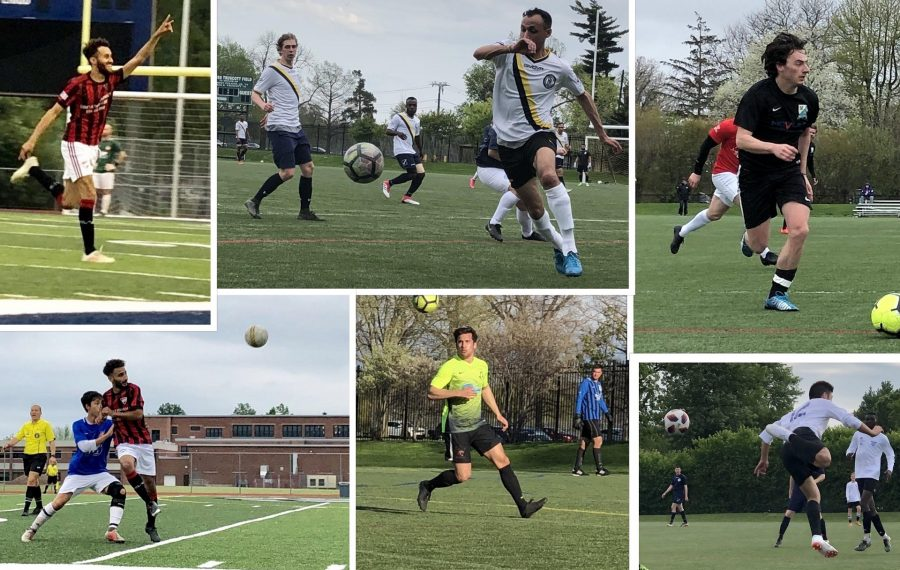 Scenes from the first half of the season in the BDSL. (Ben Tsujimoto/Buffalo News)