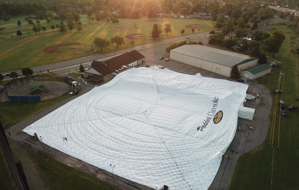 Where'd the golf dome go? Deflated landmark in Tonawanda comes down to earth