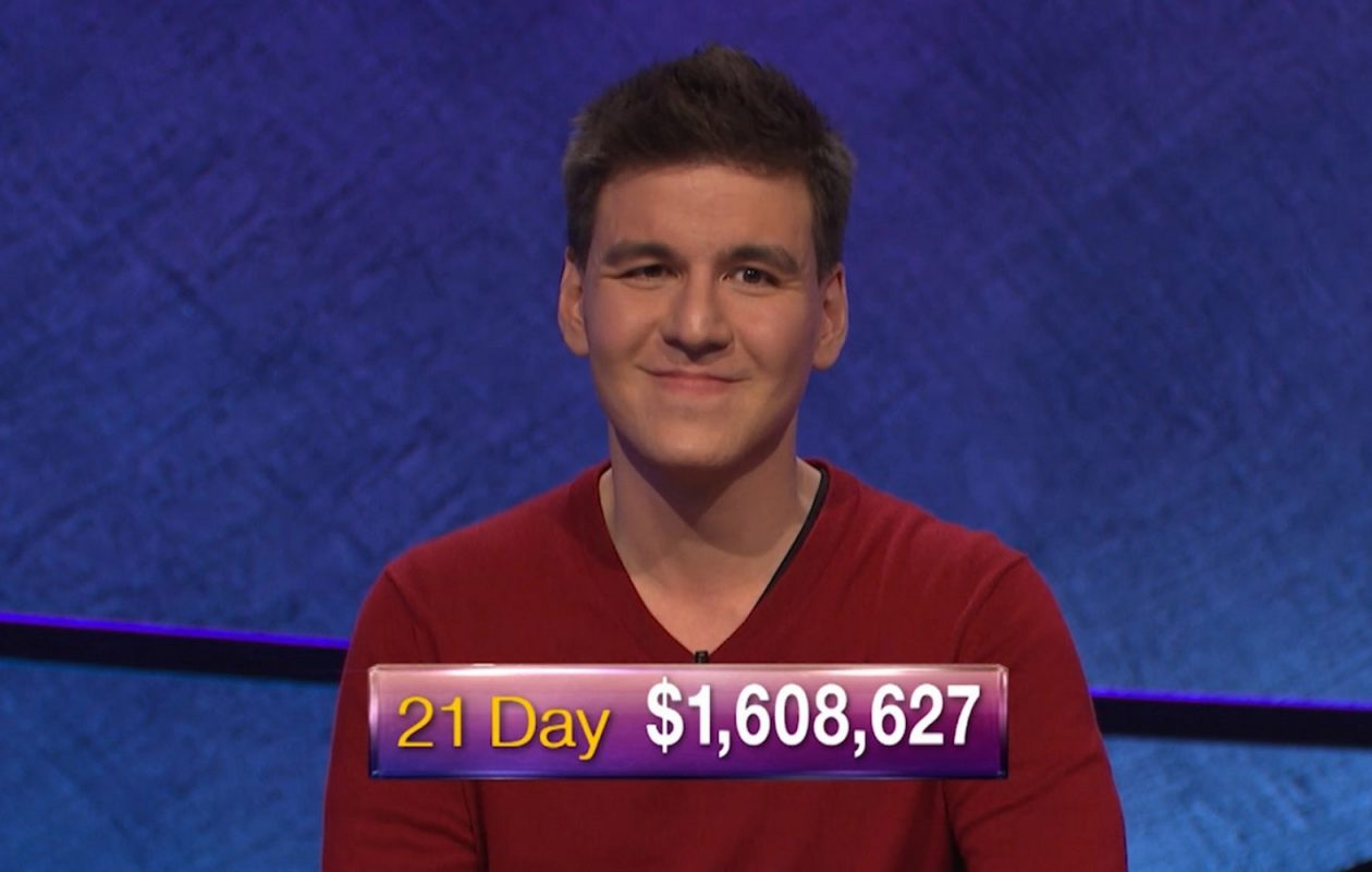 Jeff Simon writes we learned James Holzhauer is 'a man, not a robot. A rich one whose imprint will be forever on the game he played.' (Handout courtesy of Jeopardy Productions)