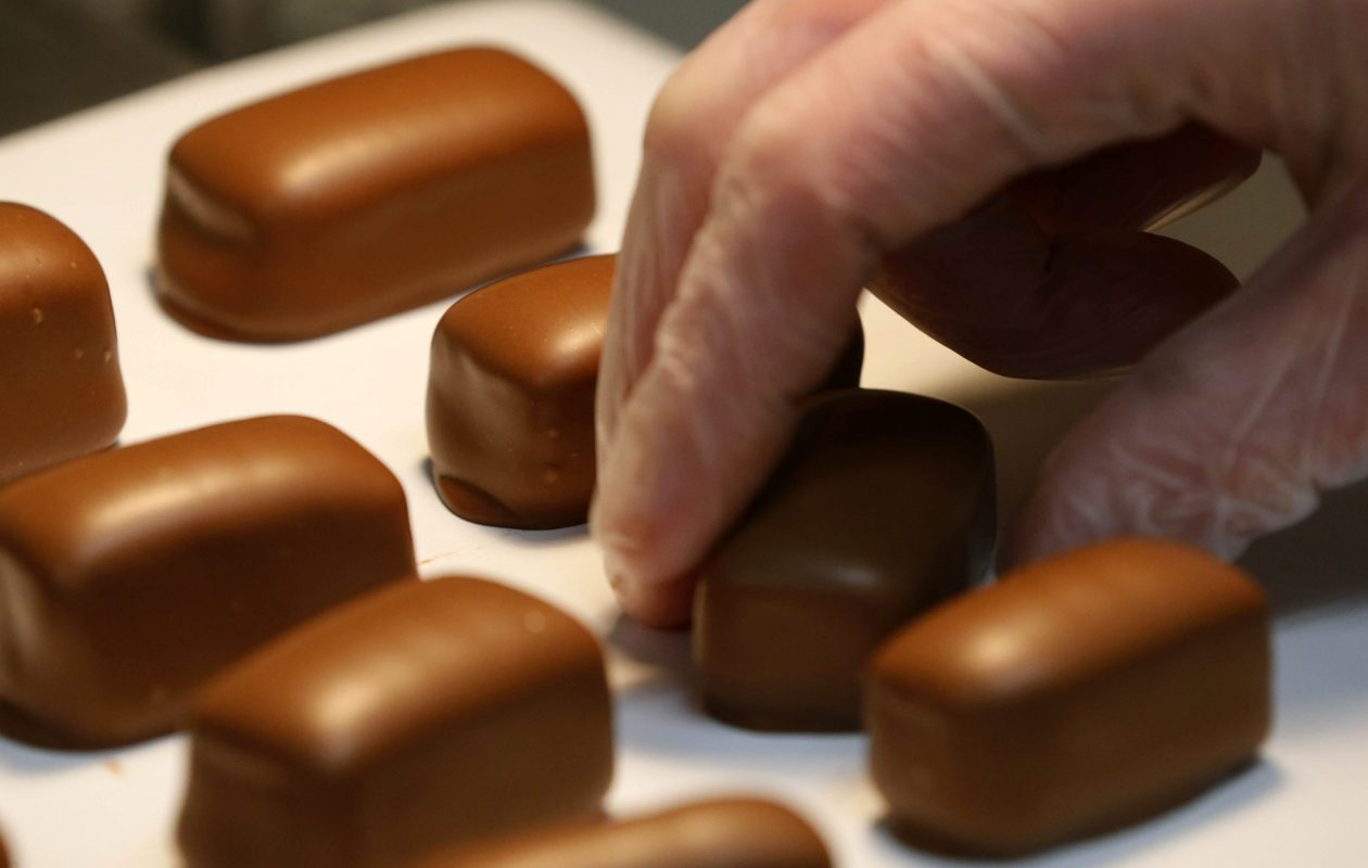 Sponge candy from Ko-Ed Candies in South Buffalo.  (Mark Mulville/News file photo)