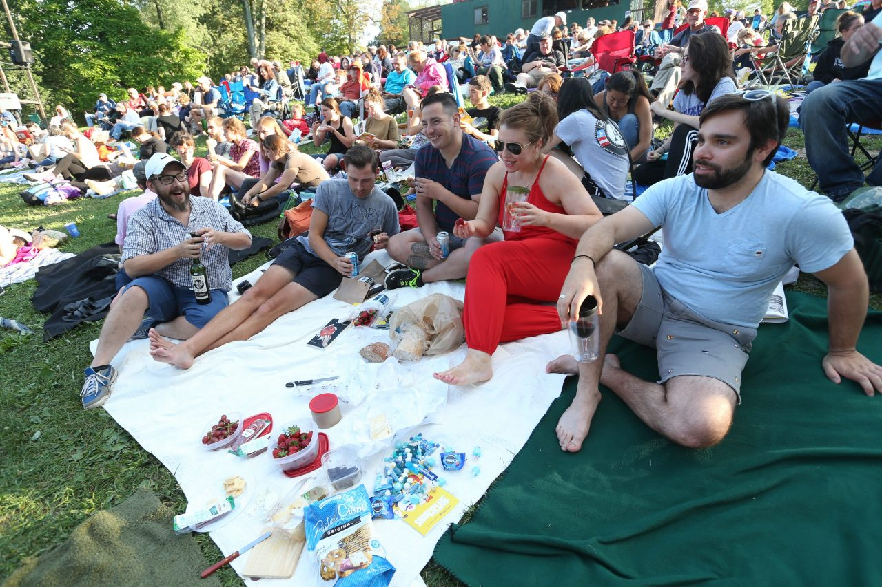 Having a picnic at Shakespeare in the Park makes the bucket list every year. (Sharon Cantillon/News file photo)
