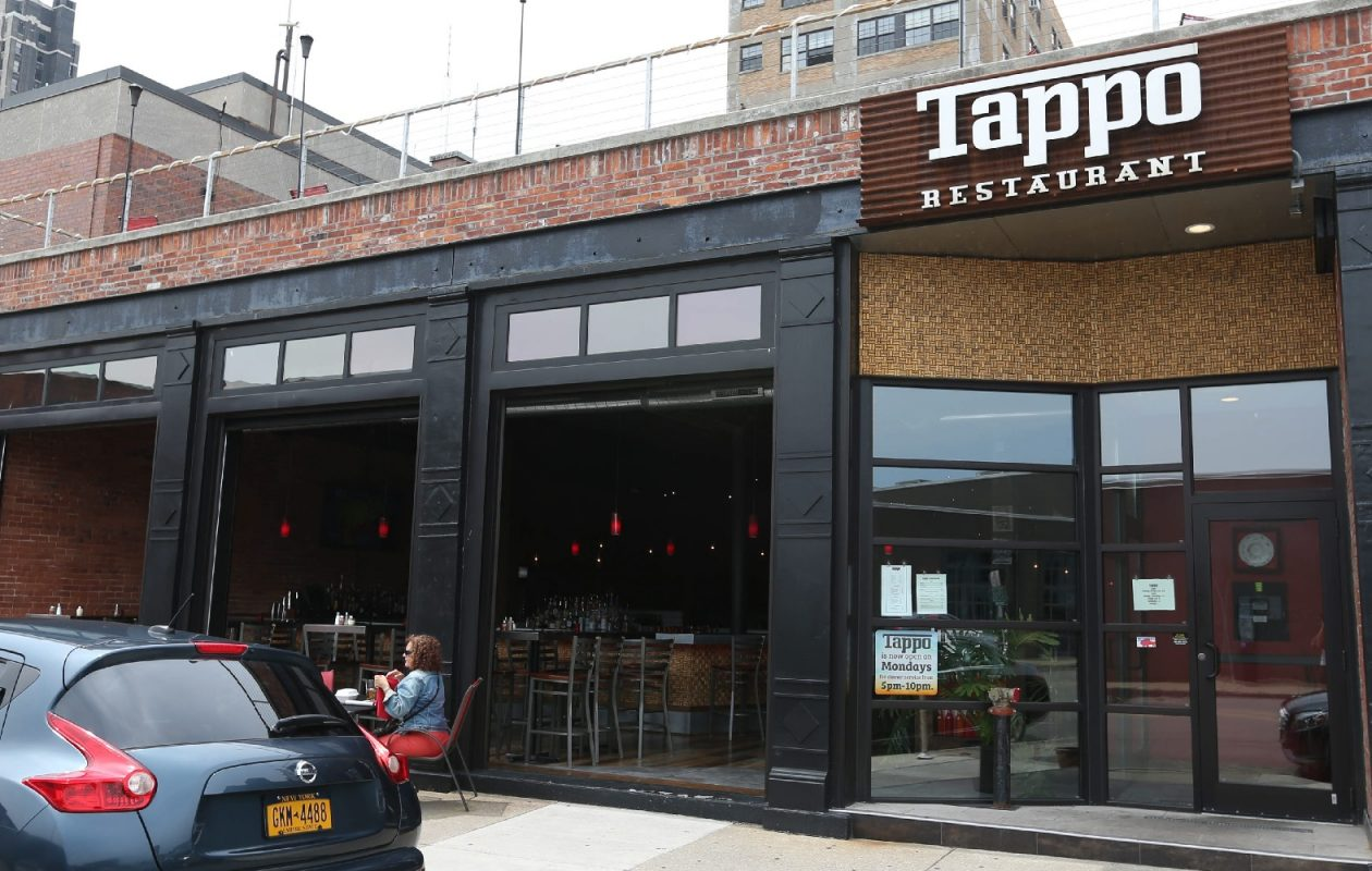 There is a 50-cent surcharge on every meal at Tappo that is matched by 50 cents from the business. The resulting $1 per meal is pooled, then split each week among kitchen workers, Tappo owner Rocco Termini says. (Sharon Cantillon/Buffalo News)