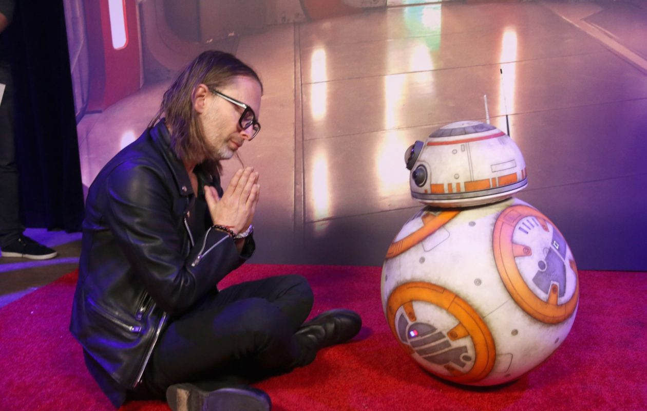 Thom Yorke, seen here at 'The Last Jedi' premiere, has released a new album, 'Anima' and stars in a Paul Thomas Anderson-directed short film of the same name. (Getty Images for Disney)