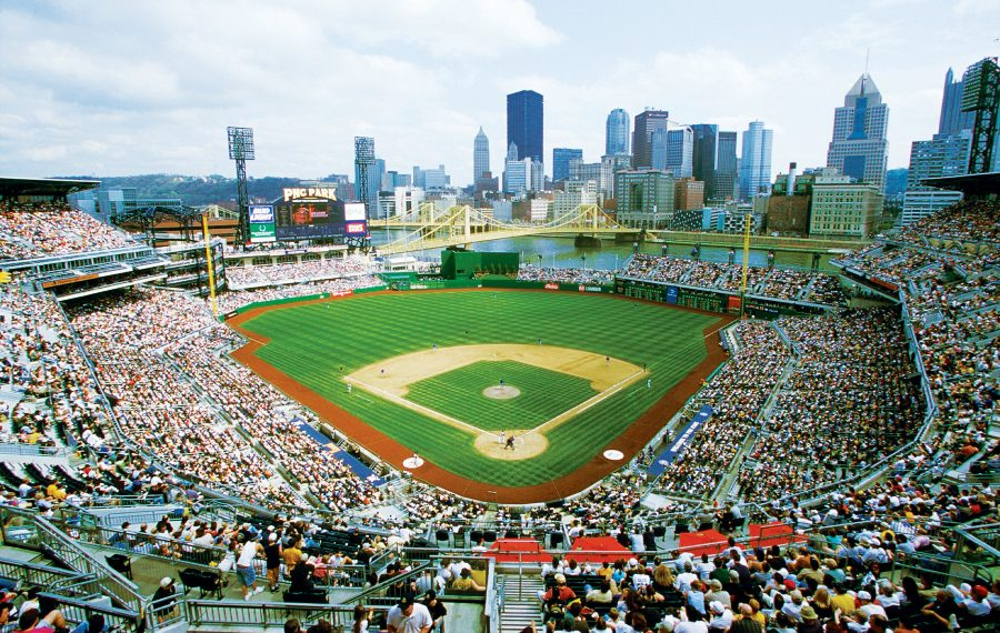 The Pirates play against one of the best views in Major League Baseball. (Courtesy Melissa McMasters, Visit Pittsburgh)