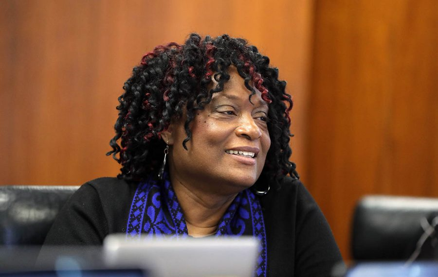 Buffalo School Board President Sharon Belton-Cottman. (Mark Mulville/Buffalo News)