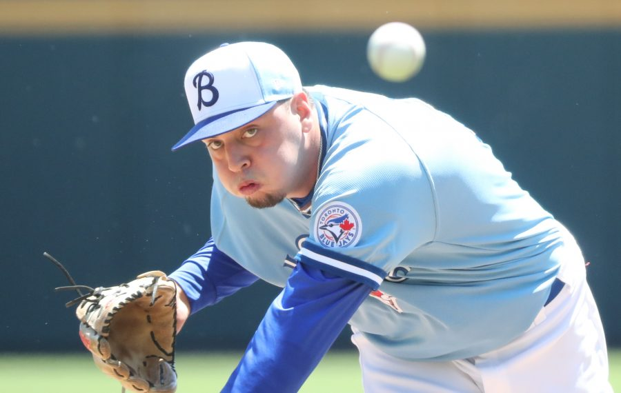 Tayler Saucedo has had several different roles on the way to a 6-0 record for the Bisons. (James P. McCoy/Buffalo News)