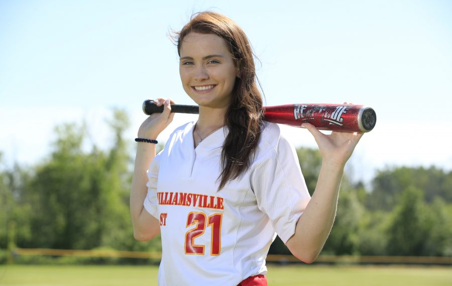 All-WNY softball player Rachel Steffan from Williamsville East High School on Wednesday, June 26, 2019. (Harry Scull Jr./Buffalo News)