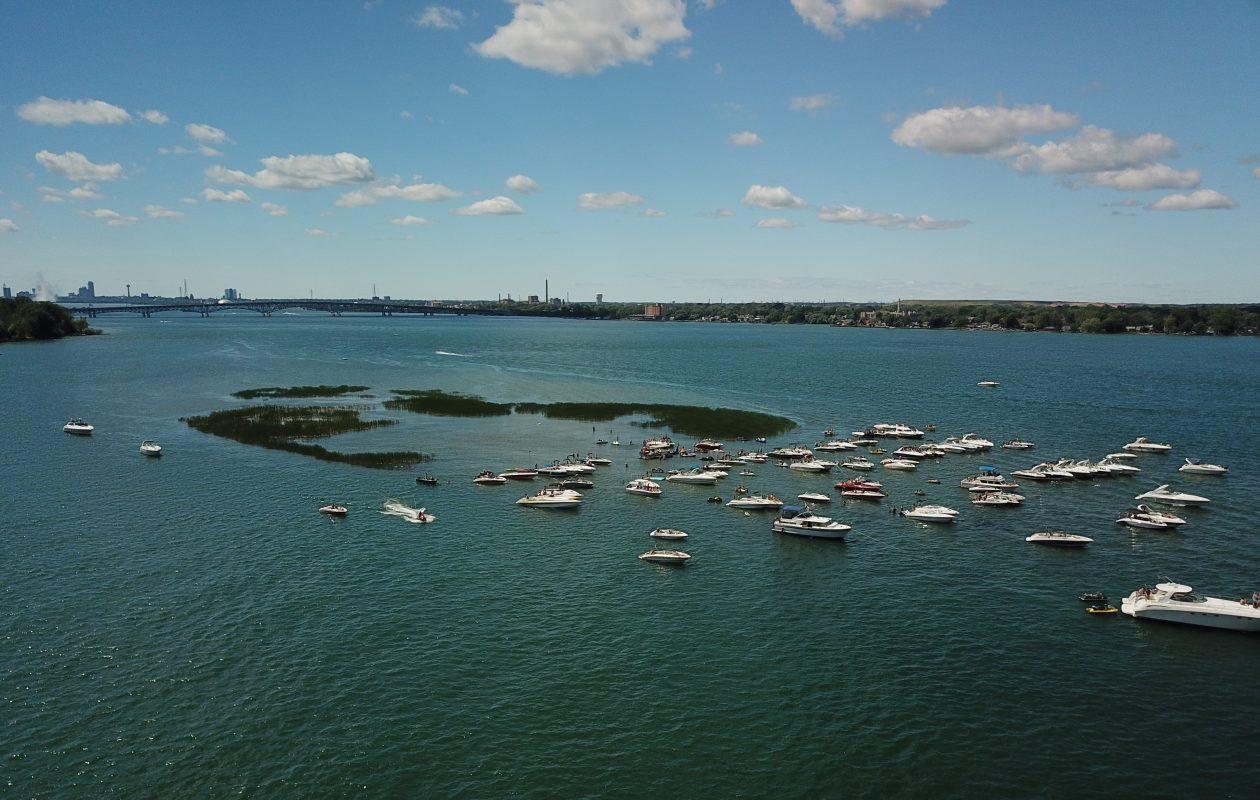 As Grass Island slips away, compromise sought over Niagara River hangout