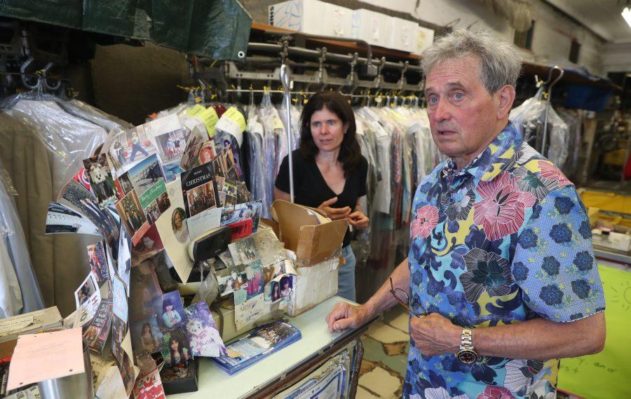 Gary Rotundo is preparing to bid farewell to his business, Rotundo's Laundry. (John Hickey/Buffalo News)