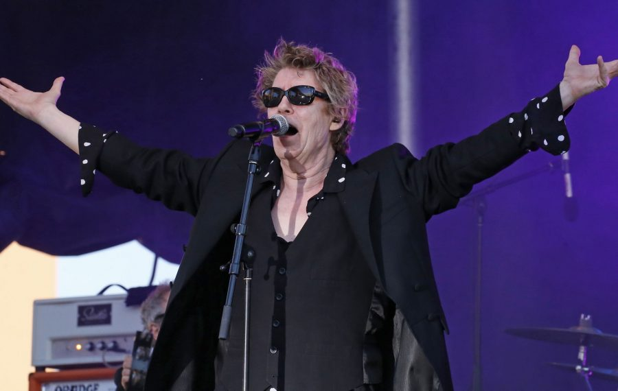 Richard Butler and the Psychedelic Furs seemed inspired by an exquisite set by their predecessor, james. (Robert Kirkham/Buffalo News)