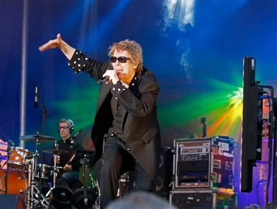Dual headliners Psychedelic Furs and james perform at Canalside Live on Thursday, July 18, 2019.