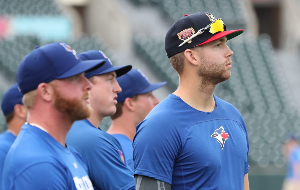 Blue Jays first-round pick T.J. Zeuch working on control after promotion to Bisons