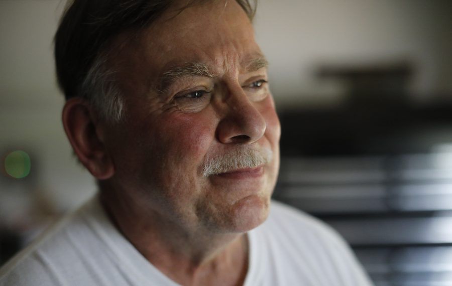 Lawrence Bartkowiak, 65, has been relying on his pension since he retired five years ago with a disability. (Derek Gee/Buffalo News)
