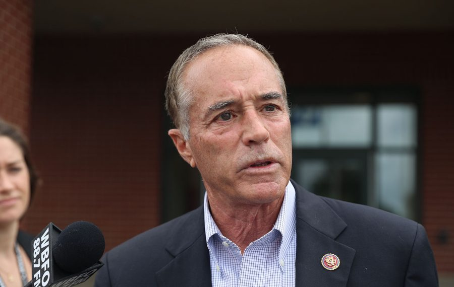 A new federal indictment of Rep. Chris Collins, R-Clarence, was filed Tuesday, Aug. 6, 2019. (John Hickey/Buffalo News)