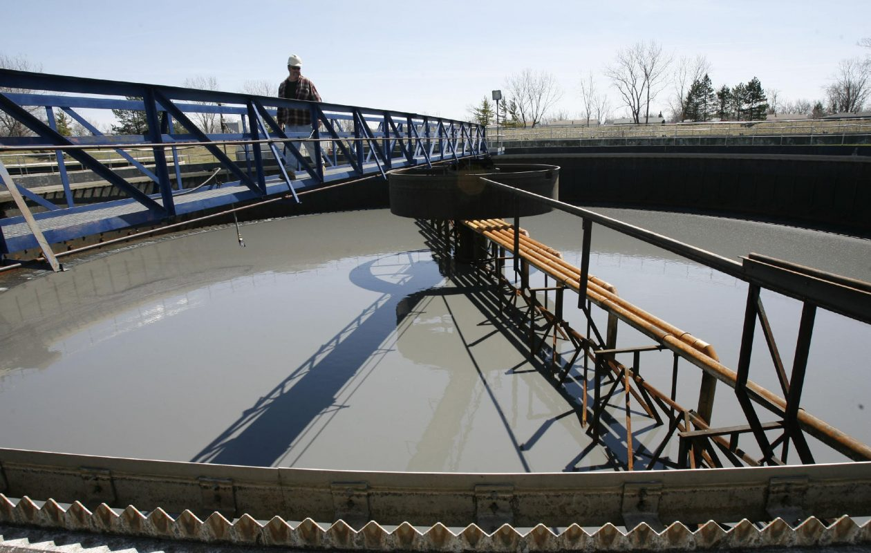 Amherst's wastewater treatment plant serves both the town and the Village of Williamsville, though their systems are separate. The municipalities are exploring the possibility of combing them. (Sharon Cantillon/News file photo)
