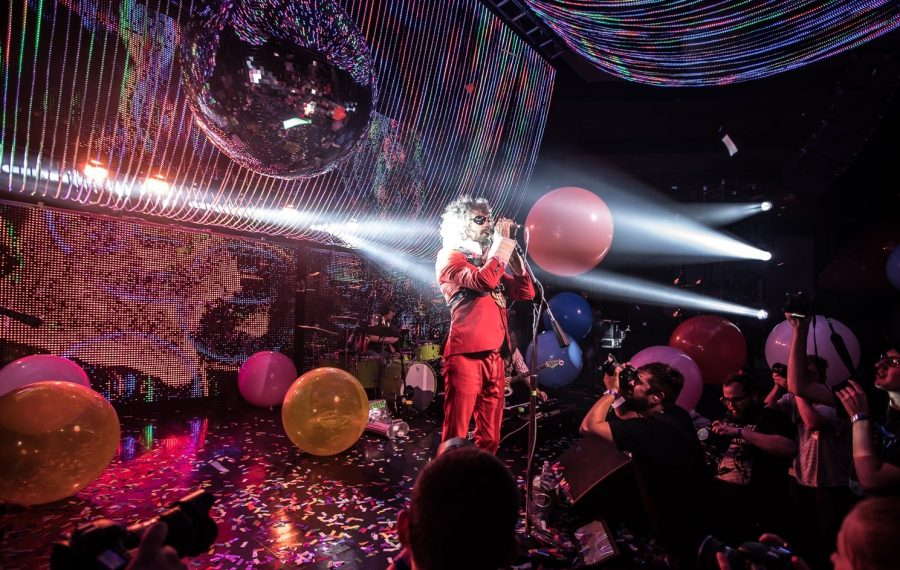 The Flaming Lips, pictured playing Rapids Theatre in 2017, return to Artpark for a concert on July 27. (Chuck Alaimo/Special to The News)