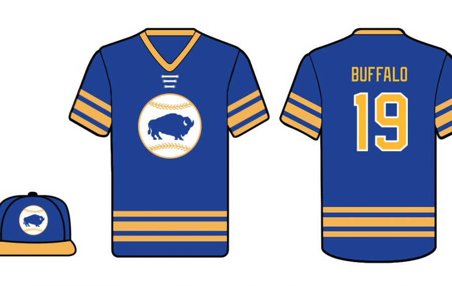 on sale 49946 53f83 Bisons to don Sabres' blue and gold for hockey night – The ...