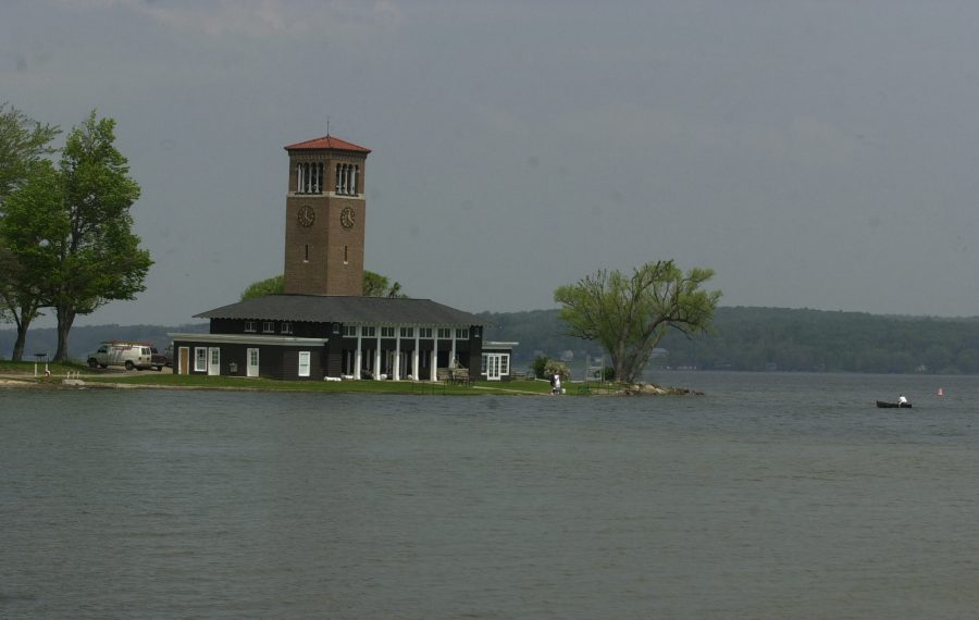 Independence Day crash occurred at the docks at the Chautauqua Institute. (Buffalo News file photo)