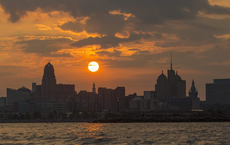 Heat and humidity return in a big way later this week. (Derek Gee/Buffalo News file photo)