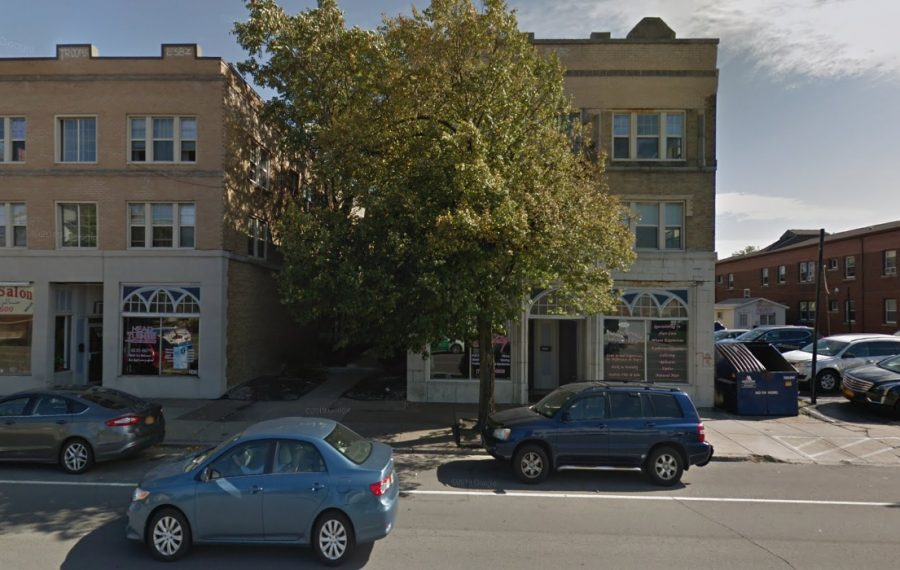The Delaware Arms Apartments at 2435 Delaware Ave. were among several properties recently sold by Nick Sinatra. (Google)