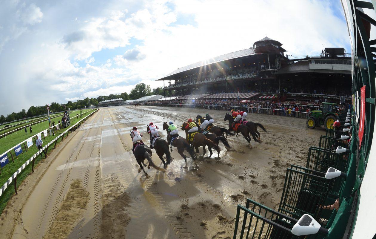 Saratoga Race Course opens on Thursday. (Adam Mooshian/NYRA)