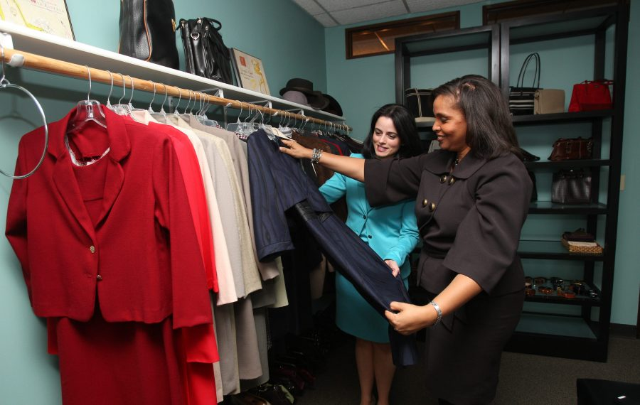"""Dress for Success Buffalo is a nonprofit """"boutique"""" providing career clothing and mentoring to women. (Sharon Cantillon/News file photo)"""