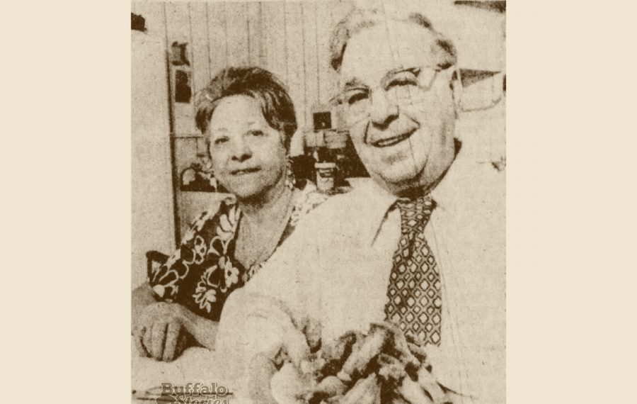 Teressa and Frank Bellissimo, the purported creators of the chicken wing. (Buffalo Stories archives)