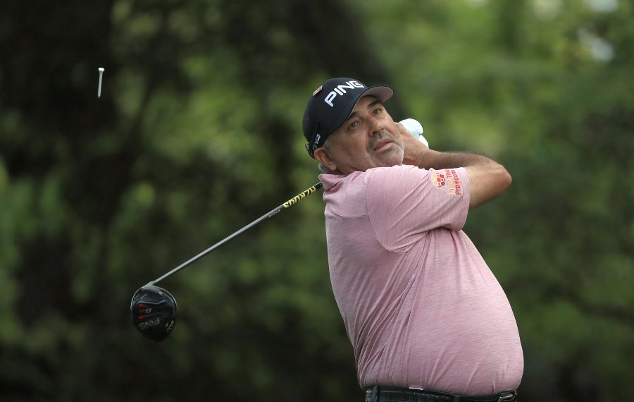 Angel Cabrera of Argentina is expected in the field at the LECOM Health Challenge. (Mike Ehrmann/Getty Images)